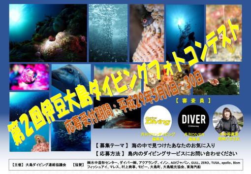 第2回伊豆大島ダイビングフォトコンテスト